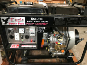 Eagle Deisel generator, 120/240v, electric start