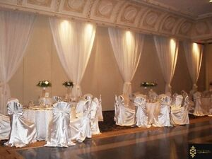 Wedding and Party Rentals ( chair cover $1.00 & linens and more) Edmonton Edmonton Area image 1