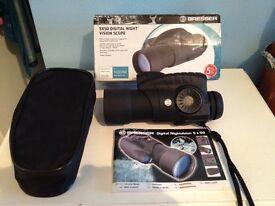 Night vision digital scope