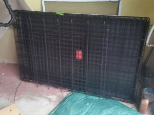 Large dog cage salmon arm