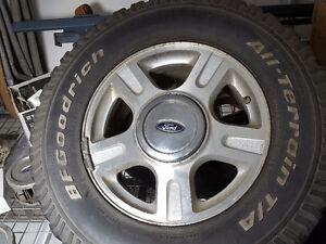 Ford wheels Regina Regina Area image 1