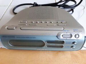 Sony Dream Machine Am/Fm Clock RADIO ICF-C273