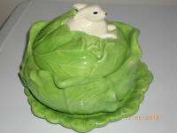 Bunny in Cabbage Soup Tureen