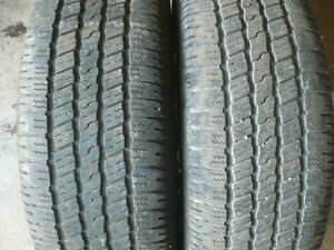two 275-60-20 tires   $200.00