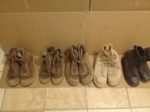 1 lot of Combat Boots from Canadian military,
