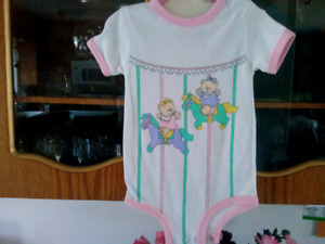 Baby sunsuits