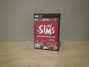 The Sims Complete Collection (all 4 discs and manual)