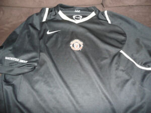 Manchester united AND AC Milan soccer jerseys
