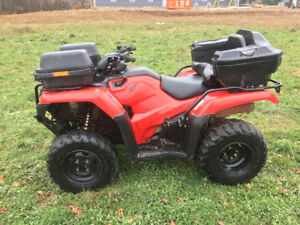 2015 HONDA 420 FOURTRAX WITH EPS....FINANCING AVAILABLE