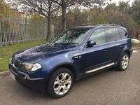 2004/54 BMW X3 3.0i 220bhp auto✅full leather✅sat nav✅bargain