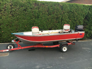 12' Aluminum Fishing Boat/Package