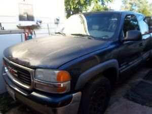 1999/2002 gmc /chevy fullsize used truck parts