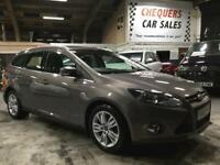 Ford Focus Titanium Navigator Econetic Tdci Estate 1.6 Manual Diesel