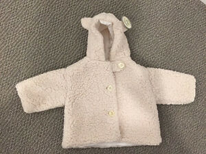 Bearington baby collection Coat and blanket