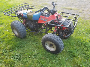 Suzuki 250 1987 2WD fonctionell 350$ negociable !
