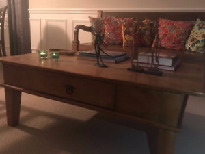 Restauration Peroba Solid Wood Coffee Table