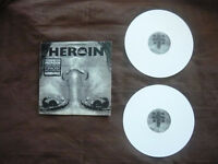 "Idol, Billy	""Heroin"" White Vinyl Double 12"" -  9 Track EP"