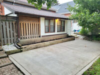 Detached Bungalow with large private yard