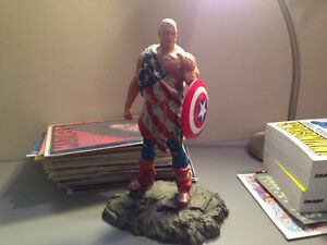 Earth X Captain America Statue