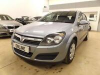 VAUXHALL ASTRA LIFE 16V TWINPORT, Silver, Manual, Petrol, 2006