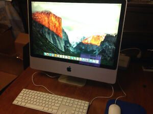 """2007 iMac 24"""" - El Capitan + Office and Solid State"""