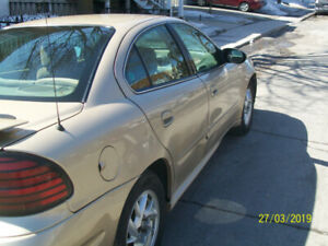 2003 Pontiac Grand Am ac, Berline