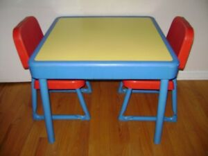 Fisher Price Table and Chairs