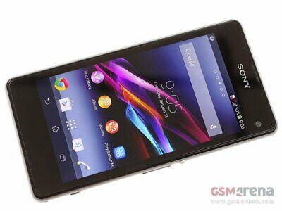 New *UNOPENED*  Sony Xperia Z1 Compact D5503 Smartphone INT'L VER./Black/16GB