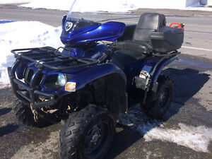 4 roue Yamaha Grizzly 660