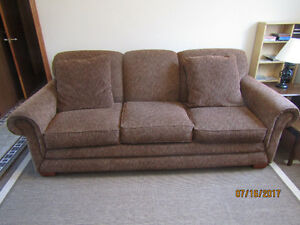"""Sofa bed couch by Lazy Boy . Matt. 60""""x72"""" size Excellent shape."""