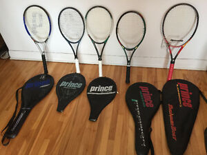 Superb Collection Of Prince Tennis Racquets!!!