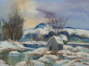 Gyula Marosan - Landscape and Abstract Oil Painting Collection London Ontario image 10