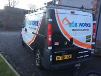 2008 Vauxhall Vivaro 2.0 dti breaking for parts