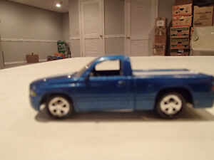Loose Blue Metallic 1999 '99 DODGE RAM SST by JOHNNY LIGHTNING Sarnia Sarnia Area image 3