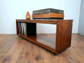 Vintage Retro Mid Century Rosewood HiFi Sideboard