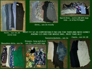 Womens plus size clothes... MUST GO NOW! 115 OBO