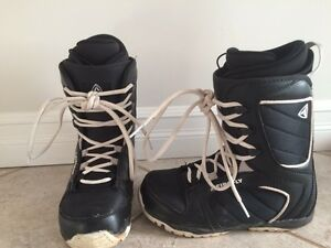 Firefly black snow board boots size 8