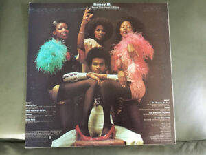 BONEY M **Take the Heat Off Me** Vinyl Record Funky Soul Disco