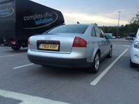 Audi a6 2.4 petrol (full leather). Swap