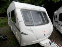Abbey GTS 215 2008 Touring Caravan 2 Berth End Washroom