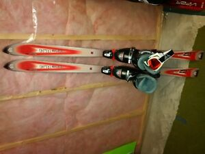150 PARABOLIC SKIS WITH 24-24.5 BOOTS