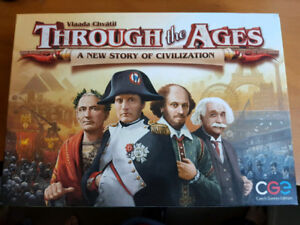 Board Game - Through the Ages: A New Story of Civilization