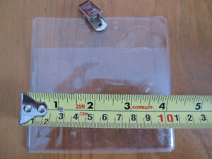 "BADGE HOLDER  - 3""x 4"" - 40 each - new REDUCED$$$"