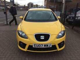 2007 Seat Leon 2.0 T FSI FR Long Mot 3 Owners Bargain