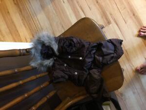 Small dog winter coat