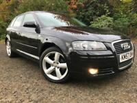 *3 MTHS WARRANTY*2007(07)AUDI A3 1.9 TDI SPORTS 5DR*NEW TIMING BELT*