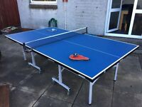 Table tennis table. Butterfly easifold rollaway