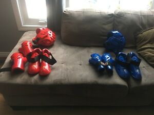 Martial arts sparring gear Cambridge Kitchener Area image 1