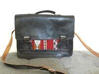 Moroccan leather satchel / laptop bag