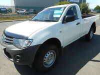 MITSUBISHI L200 SINGLE CAB FOUR LIFE 4X4 DIESEL MANUAL 2 DOOR
